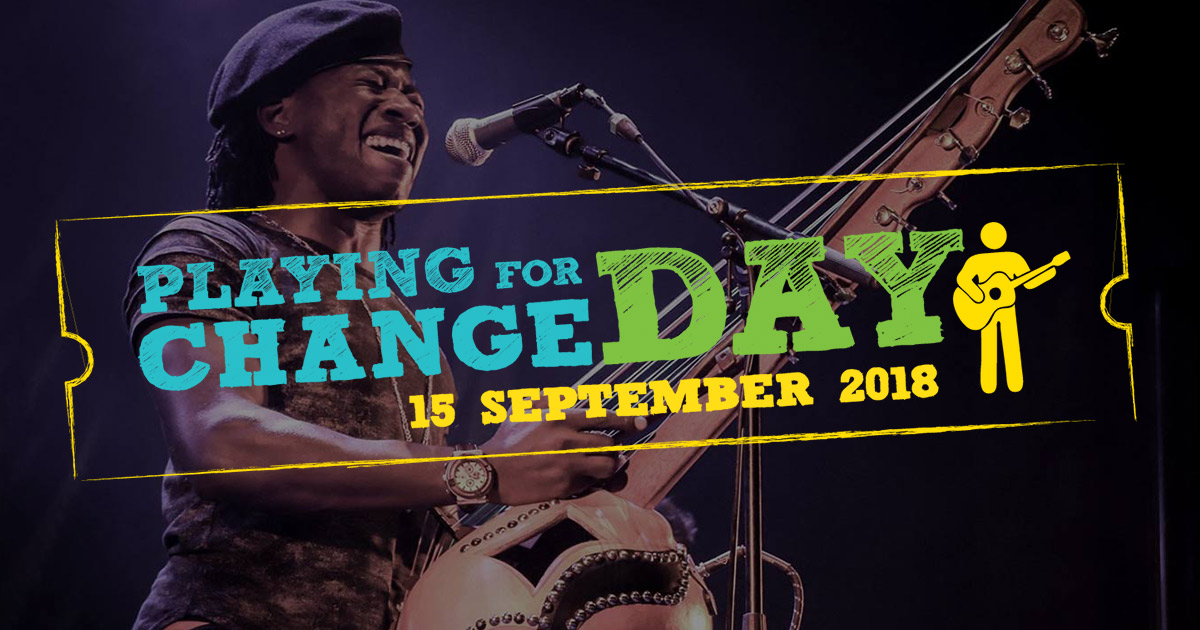 PARTICIPATE - Playing For Change Day |Playing Change Day