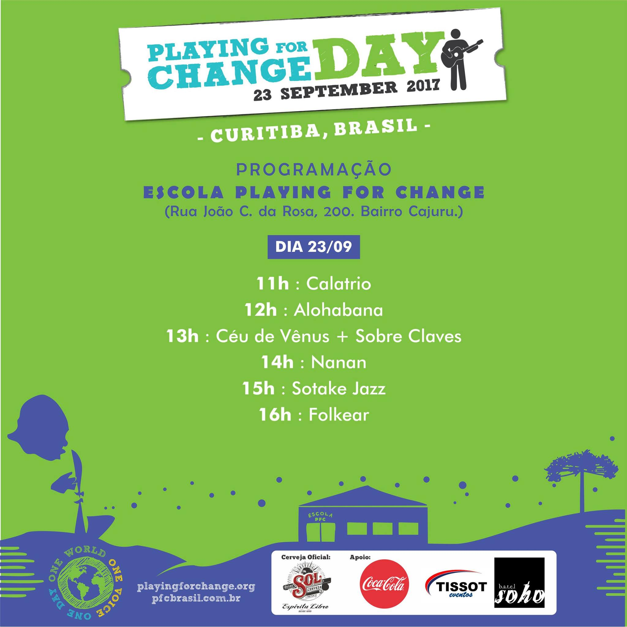 #GiveThanksDay - Playing For Change Day |Playing Change Day