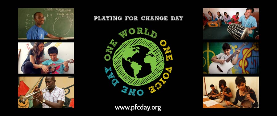 Playing for Change Day in Saskatchewan 2016 - YouTube |Playing Change Day