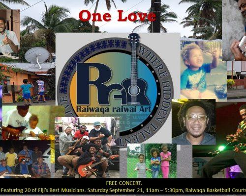 PFC One Love Cover RAIWAQA v2