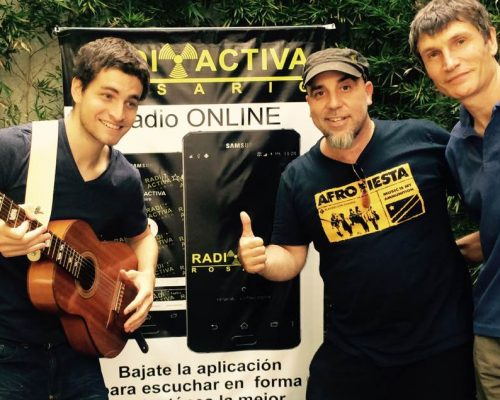 Playing for change Radioactiva Rosario con Patrick Liotta - 25-01-17