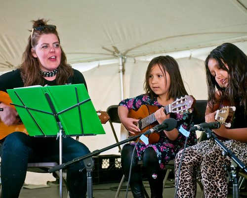 Playing for Change at the Cathedral Village Arts Festival